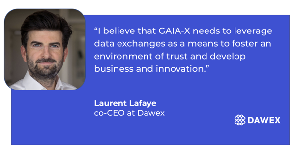 Laurent Lafaye, Dawex co-CEO, participated in the a roundtable during the Pan European GAIA-X Summit - November 2020