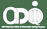 MIT CDOIQ Logo White Transparent Background