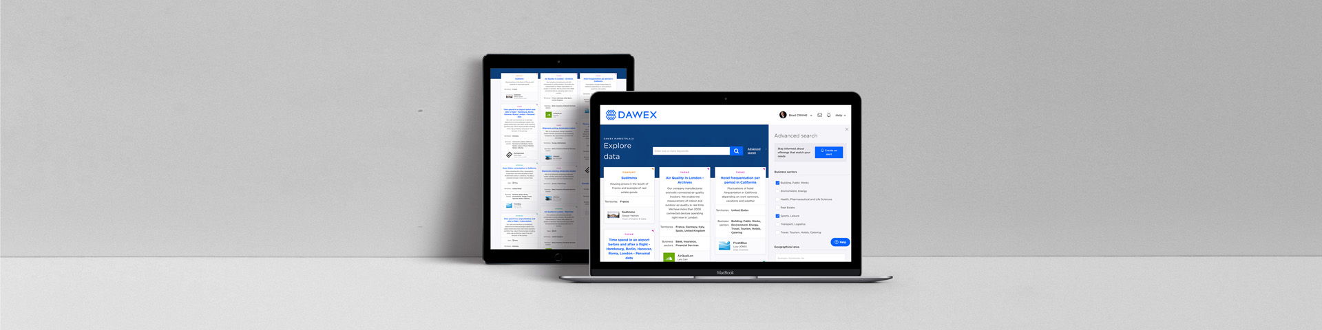 Searching on Dawex