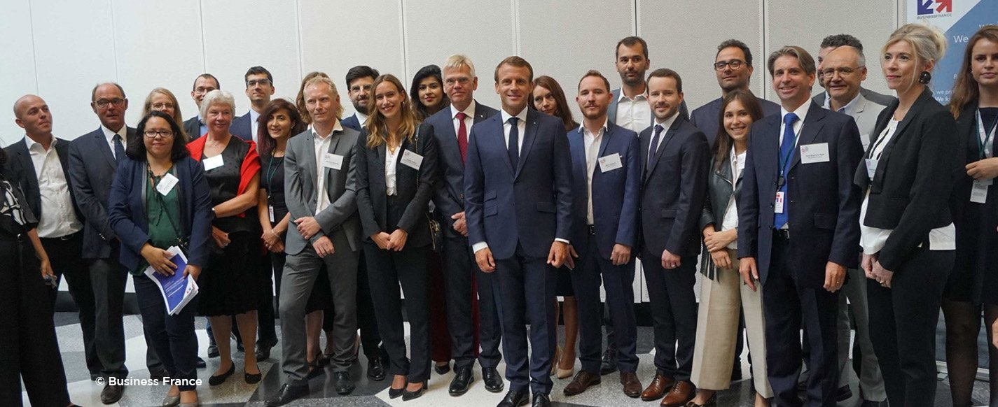 Dawex aux côtés de la délégation présidentielle d'Emmanuel Macron à Copenhague