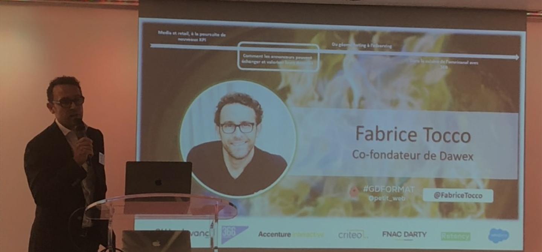Dawex invité par Petit Web pour parler de la relation entre Commerce & Marketing